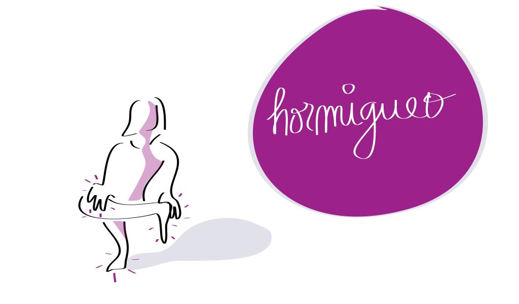 Síntomas durante el tratamiento oncológico: hormigueo