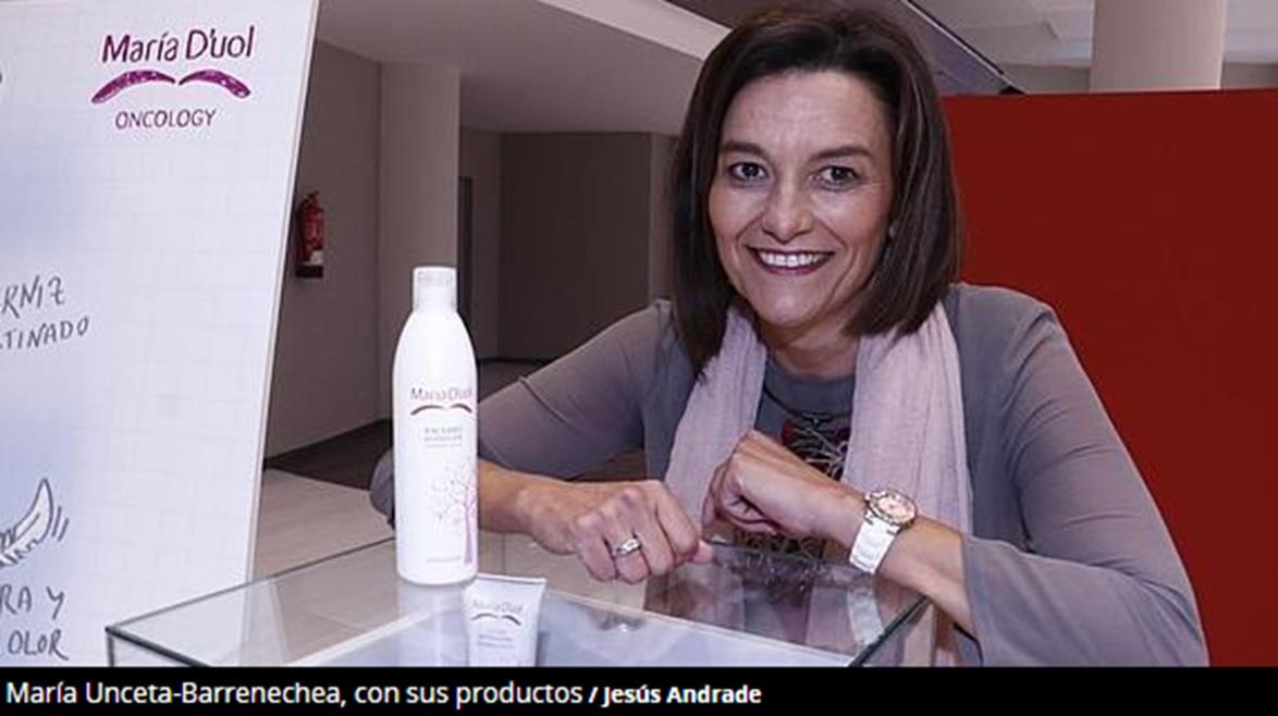María Unceta-Barrenechea lanzamiento Línea Oncology