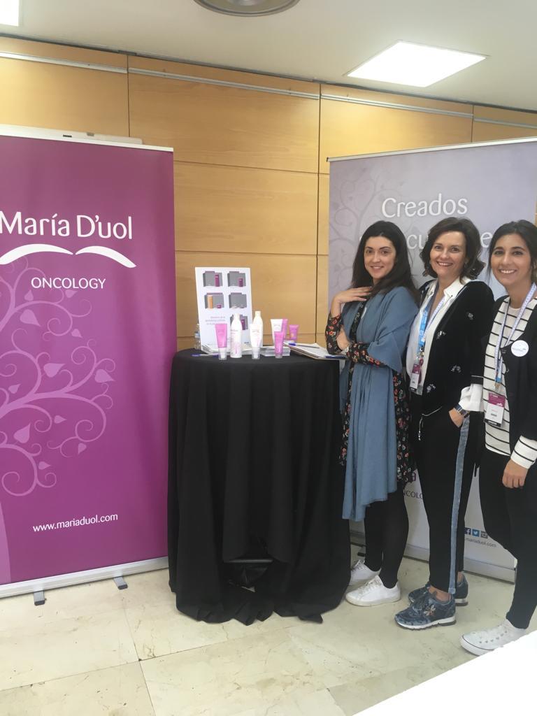 María Dúol en el Curso de Tratamientos de Soporte en Oncología